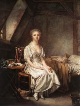Jean-Baptiste Greuze : The Complain of the Watch